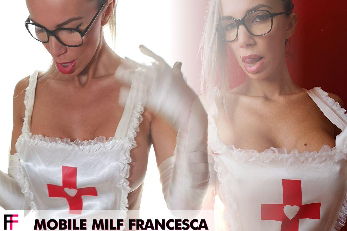 Francesca Felucci - Mobile MILF Nurse